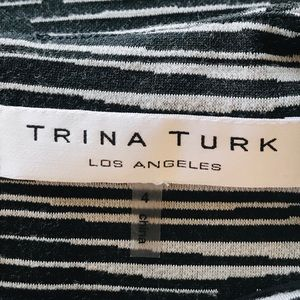 Trina Turk Dresses - Trina Turk Shades of Grey 3/4 Sleeve Dress
